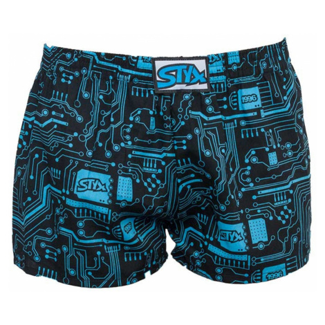 Children´s shorts Styx art classic rubber print (J857)