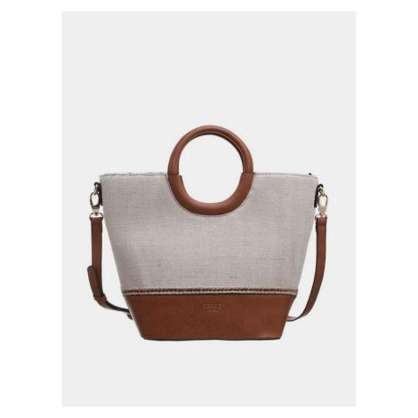Hnedo-béžová kabelka Bessie London