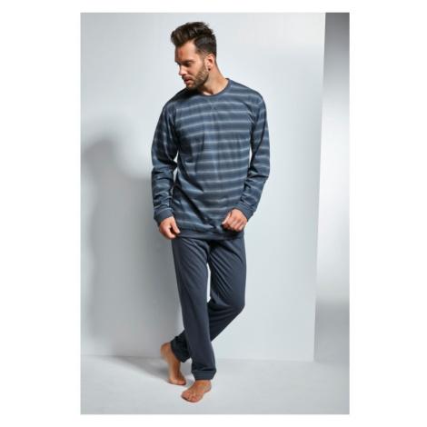 Pánske pyžamo Cornette 117/114 - barva:COR114/grafitová