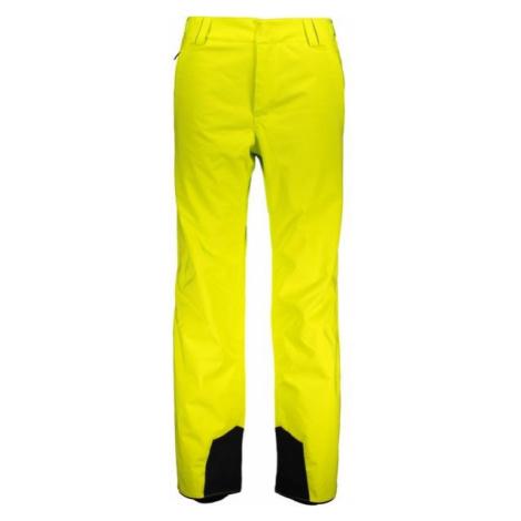 Fischer PANTS VANCOUER M žltá - Pánske lyžiarske nohavice