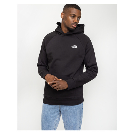 The North Face Raglan Red Box Hoodie Tnf black/Tnf white