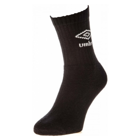 Umbro ANKLE SPORTS SOCKS - 3 PACK čierna - Ponožky