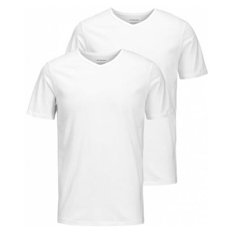 JACK & JONES Tričko  biela