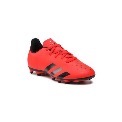 Adidas Topánky Predator Freak .4 FxG J FY6322 Červená