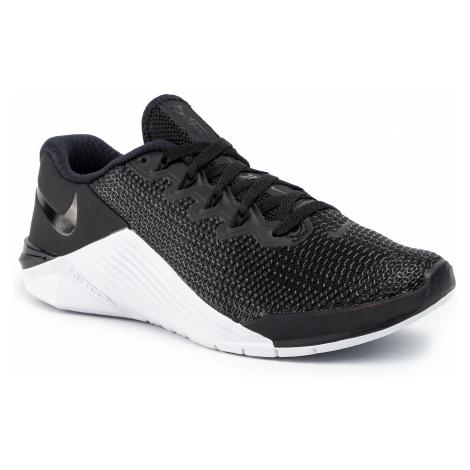 Topánky NIKE - Metcon 5 AO2982 010 Black/Black/White/Wolf Grey