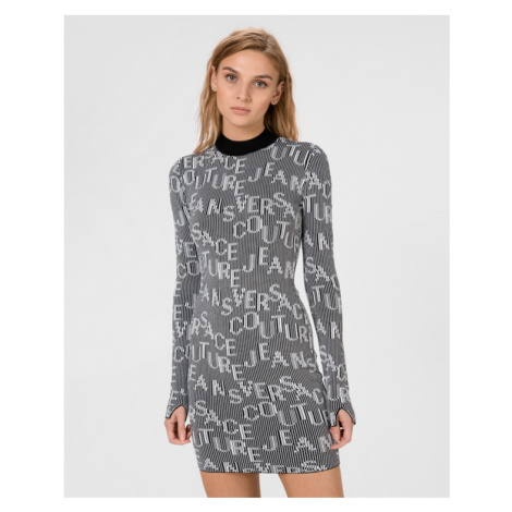 Versace Jeans Couture Šaty Čierna Biela