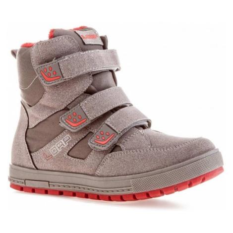 Loap VOICE sivá - Detské zimné topánky