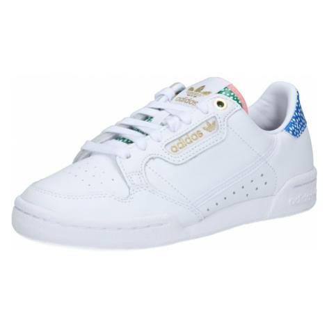 ADIDAS ORIGINALS Nízke tenisky 'Continental 80'  zelená / biela / modrá