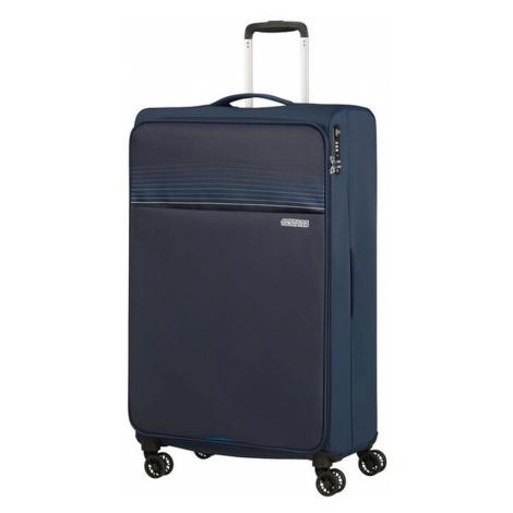 American Tourister Látkový cestovný kufor Lite Ray XL 105 l - tmavě modrá