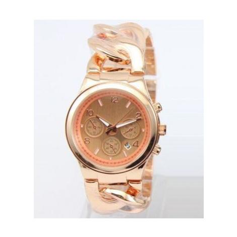 Dámske hodinky - náramok reťaz Rose Gold