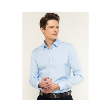 Boss Košeľa Isko 50427541 Modrá Slim Fit Hugo Boss