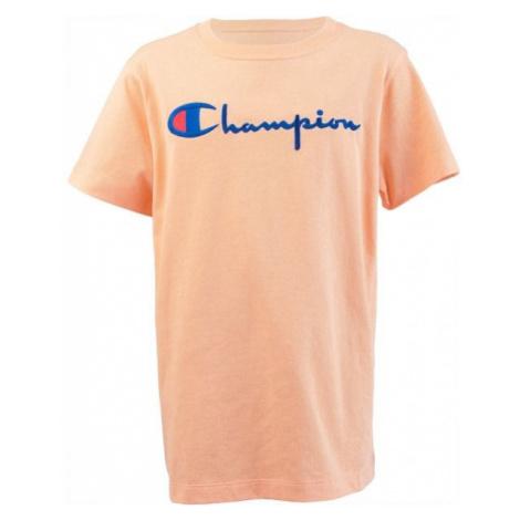 Champion CREWNECK T-SHIRT oranžová - Dámske tričko