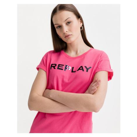 Replay Tričko Ružová