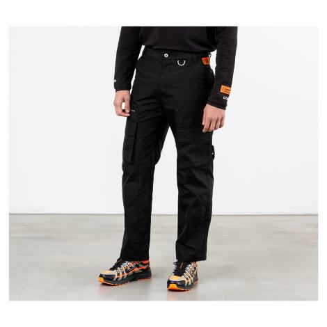 HERON PRESTON Cargo Pants Black/ Orange