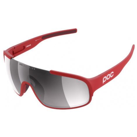 Cyklistické Okuliare Poc Crave Prismane Red