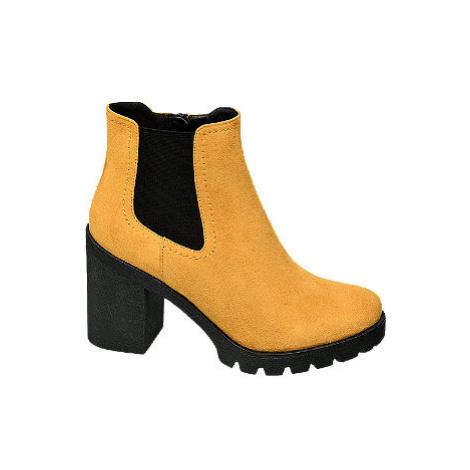 Žltá Chelsea obuv Graceland