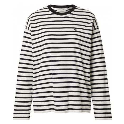 Carhartt WIP Tričko 'Robie'  krémová / čierna
