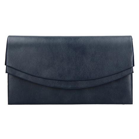 Elegantní listová kabelka Marlota - tmavo modrá Delami