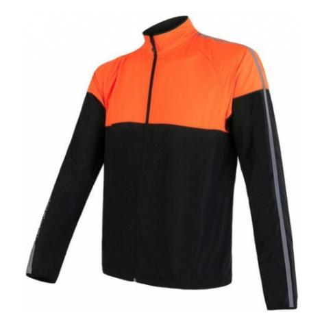 Pánska bunda Sensor NEON čierna/oranžová reflex 17100114