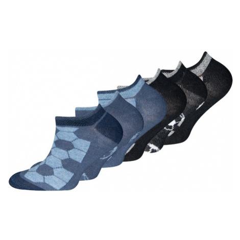 EWERS Ponožky  čierna / dymovo modrá