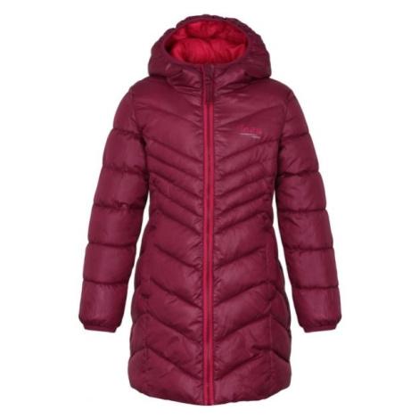 Loap INOKA ružová - Dievčenský kabát