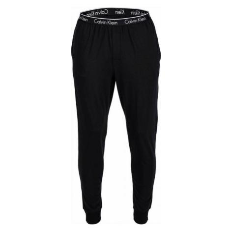 Calvin Klein PANT CUFFED čierna - Pánske tepláky