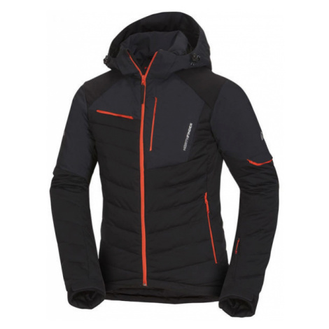 Northfinder INDIGO čierna - Pánska lyžiarska bunda