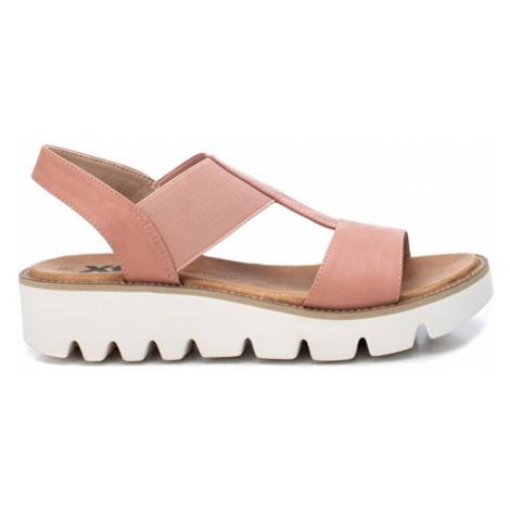 XTi Dámske sandále Nude Pu Combined Ladies Sandals Nude