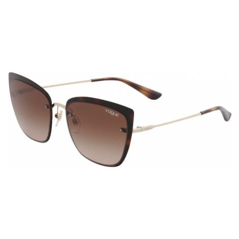 VOGUE Eyewear Slnečné okuliare '0VO4158S'  hnedá / zlatá