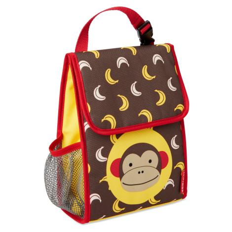 SKIP HOP Zoo Batôžtek desiatový NEW Opička 3+
