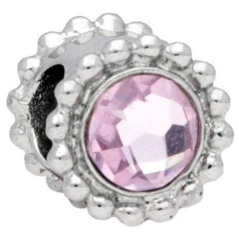 Morellato Oceľový prívesok Drops Crystal Light Pink SCZ773