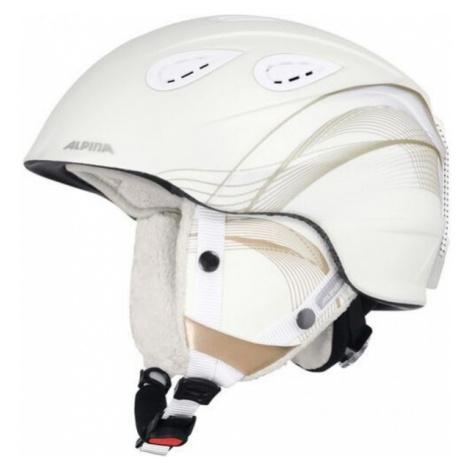 Alpina Sports GRAP 2.0 biela - Lyžiarska prilba