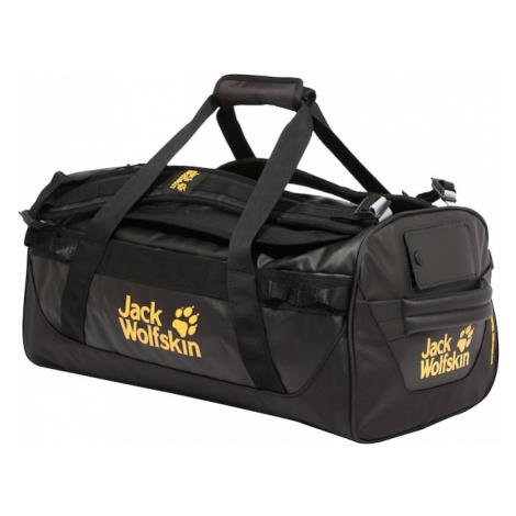 JACK WOLFSKIN Cestovná taška  čierna / žltá