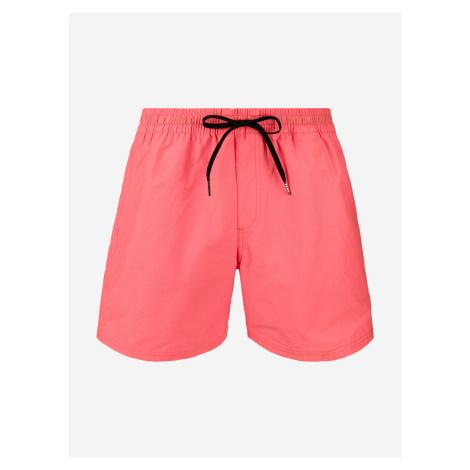 Boardshortky Vans Mn Primary Volley Ii Calypso Coral Růžová