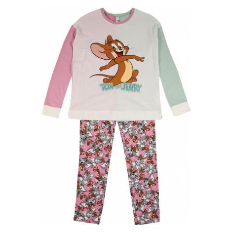 UNITED COLORS OF BENETTON Pyžamo  rosé / pastelovo zelená / svetlosivá / karamelová / zmiešané f