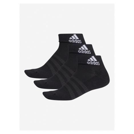 Ponožky adidas Performance Cush Ank 3Pp Čierna