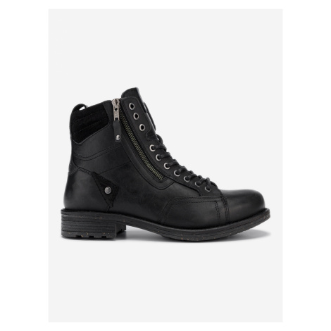 Hill Kotníková obuv Wrangler Čierna