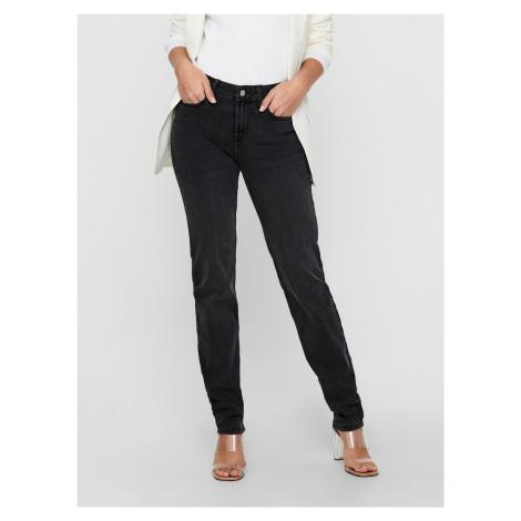 Jacqueline de Yong sivé džínsy