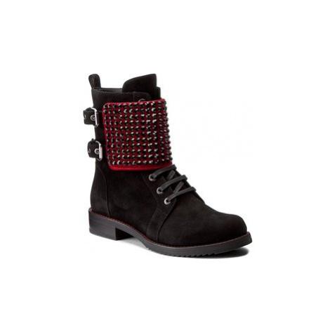 Loriblu Členková obuv 8I K2T077 KK Čierna