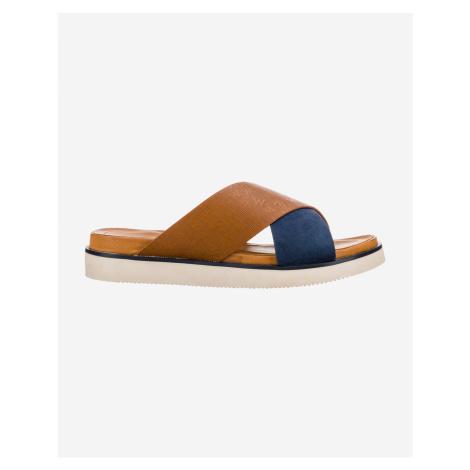 Papuče, žabky pre ženy Wrangler - modrá, hnedá