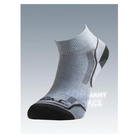 Ponožky so striebrom Batac Classic short - sand