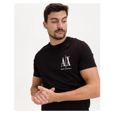 Armani Exchange Tričko Čierna