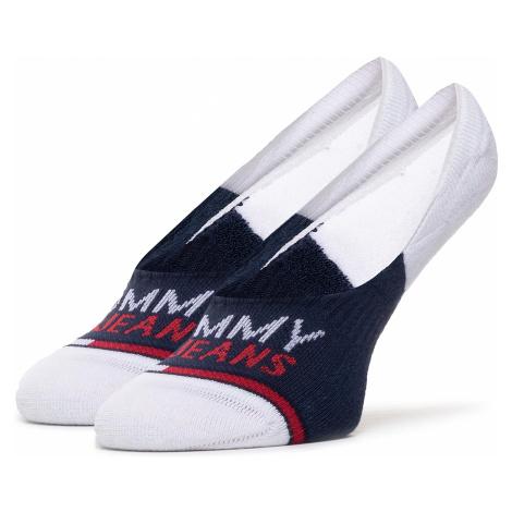 Súprava 2 párov krátkych ponožiek unisex TOMMY JEANS Tommy Hilfiger