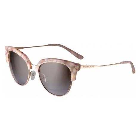 Michael Kors Slnečné okuliare 'SAVANNAH'  rosé / čierna