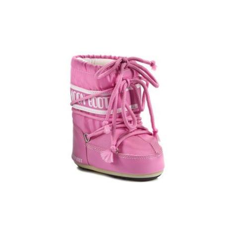 Moon Boot Topánky 14004300063 Ružová