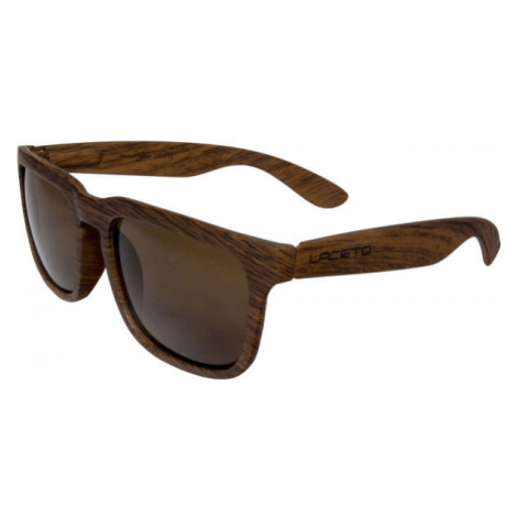 Laceto WOODY hnedá - Slnečné okuliare