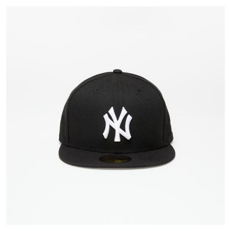 New Era Cap 59Fifty Mlb Basic New York Yankees Black/ White Log