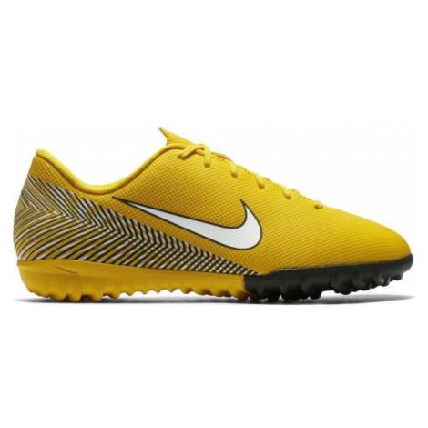 Nike VAPOR 12 ACADEMY GS TF JR žltá - Detské turfy
