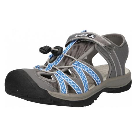 Kamik Sandále 'ISLANDER2'  dymovo šedá / kráľovská modrá / biela
