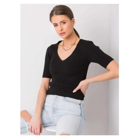 RUE PARIS Women´s black blouse